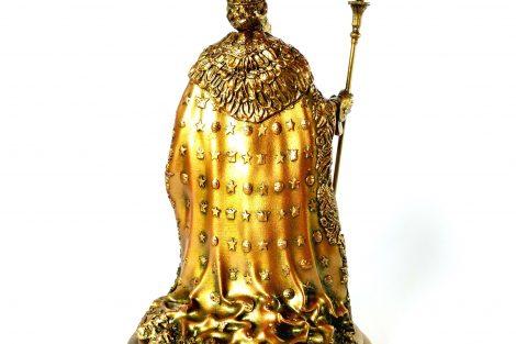 Colecionável Dom Pedro II Detalhe Costas