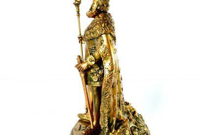 Colecionável Dom Pedro II Detalhe Lateral