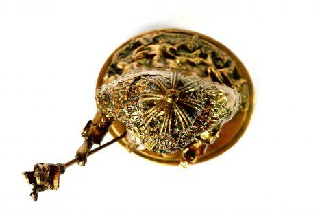Colecionável Dom Pedro II Detalhe De cima