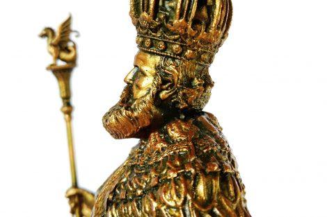 Colecionável Dom Pedro II Detalhe Busto lateral