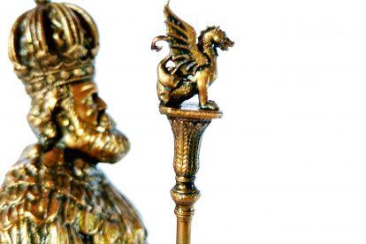 Colecionável Dom Pedro II Detalhe Cetro