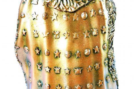 Colecionável Dom Pedro II Detalhe Manto Detalhe Manto