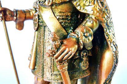 Colecionável Dom Pedro II Detalhe Véstia