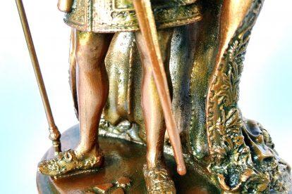 Colecionável Dom Pedro II Detalhe Sapatos