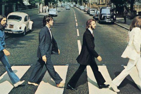 Capa do Albúm Abbey Road dos Beatles