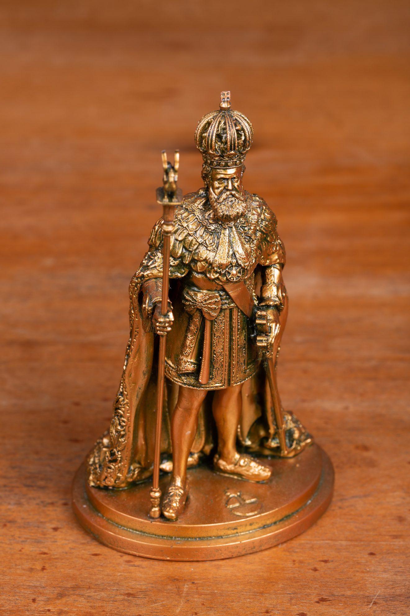 Boneco Dom Pedro II Fala do Trono