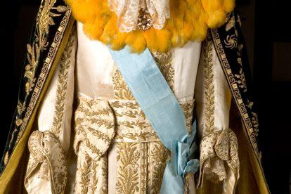 Luvas do Traje Majestático Dom Pedro II