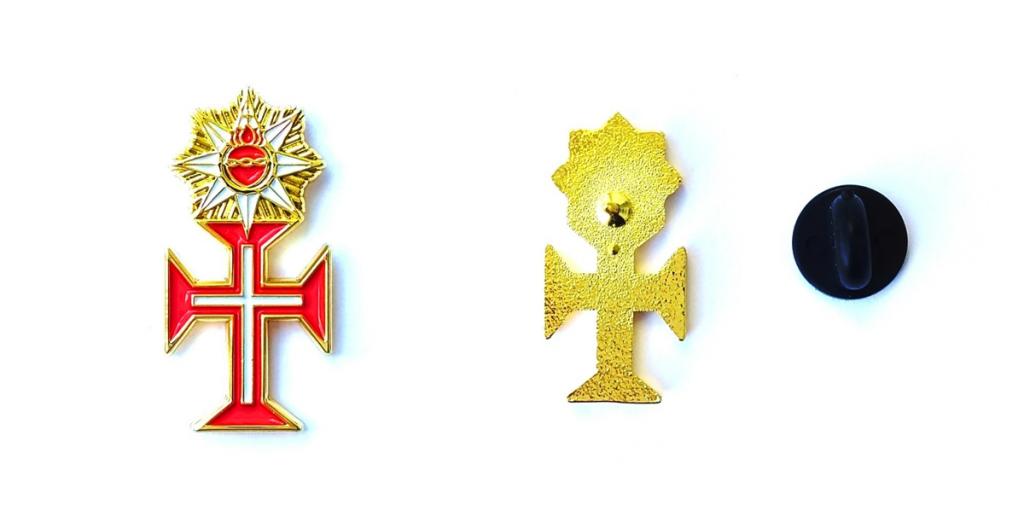 Pin Imperial Ordem de Nosso Senhor Jesus Cristo comercializado pela Von Regium